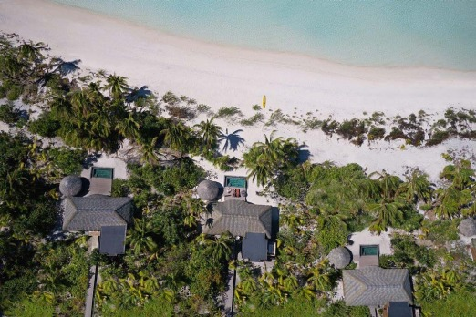 The Brando luxury villas.