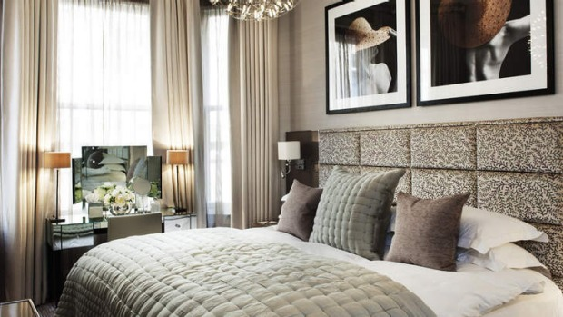 Welcoming: The family-run Athenaeum Hotel in Mayfair, London.