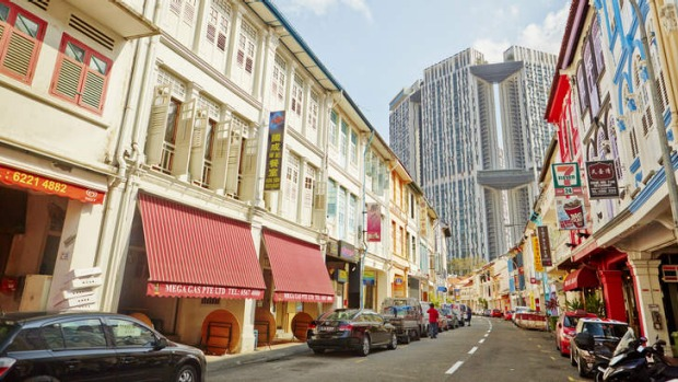 Well read: Singapore's The Library is hidden away on this street.