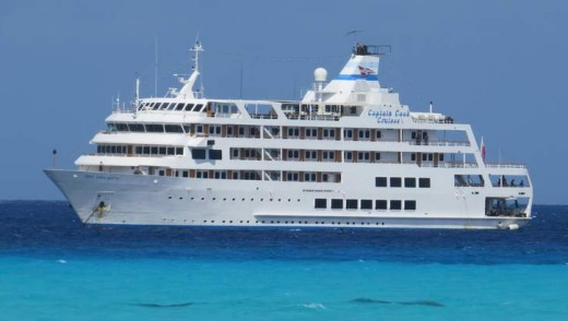The Reef Endeavour in Fiji.