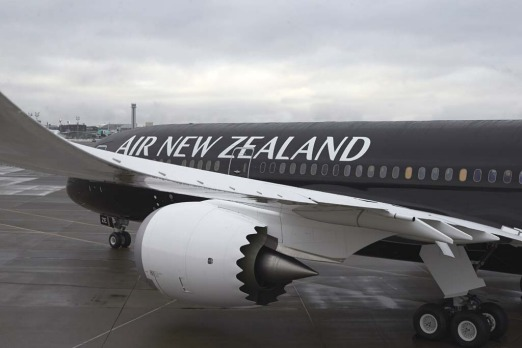 Air New Zealand Boeing 787-9.