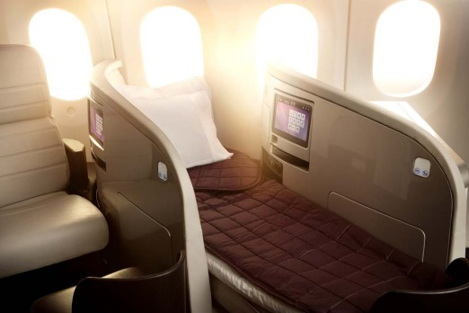 Air New Zealand Boeing 787-9 Business Premier.