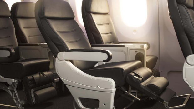 Air New Zealand Boeing 787-9 Premium Economy.