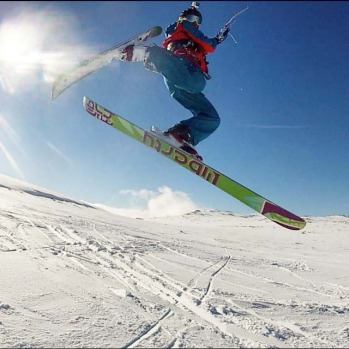 @martinwbrown83 Snow-kiting, Thredbo.