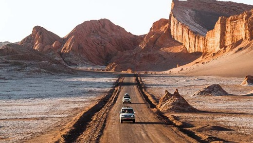 Stark beauty: Moon Valley, in the Atacama Desert, Chile.