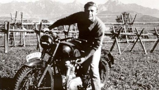 Tunnel vision: Steve McQueen in <em>The Great Escape</em>, about Stalag Luft III.