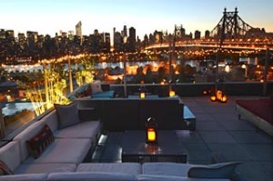 Views from the roof top of The Z Hotel in Queens, NY.