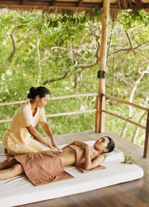Rub down: Enjoy a Thai massage at the Kamalaya Wellness Sanctuary and Holistic Spa Resort, Koh Samui.