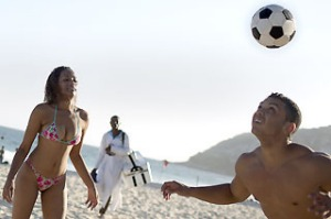 Images of beautiful bodies on Copacabana and Ipanema beaches haven't done Brazil's tourism image any harm.