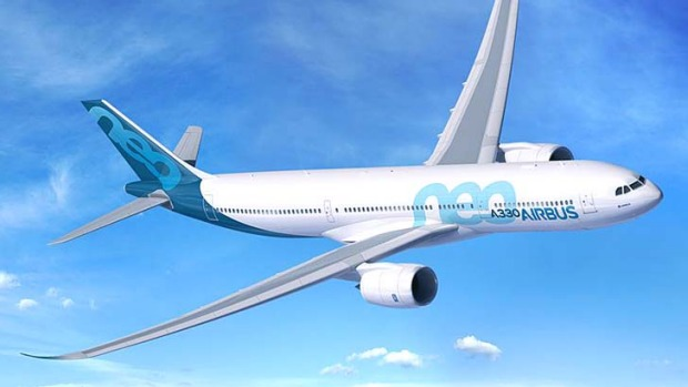 The new A330-900neo with be powered by Rolls-Royce Trent 7000 engines.