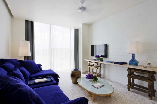 Point Yamu Bay suite living