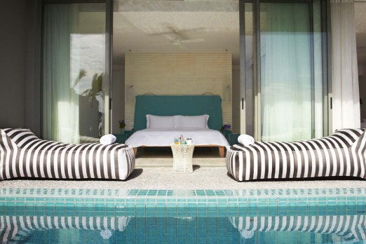 Point Yamu Bay suite pool