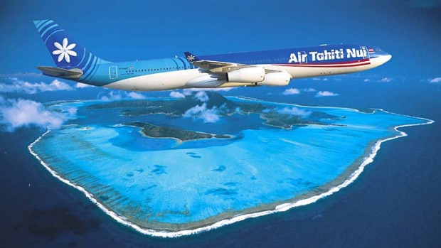 Pretty much the only way to go: Air Tahiti Nui.