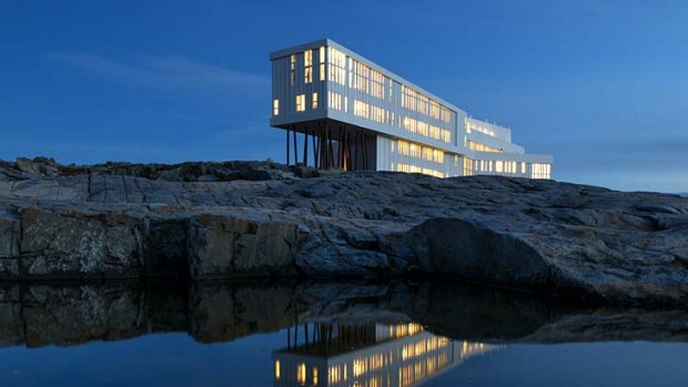 What's new: The Fogo Island Inn, Canada.