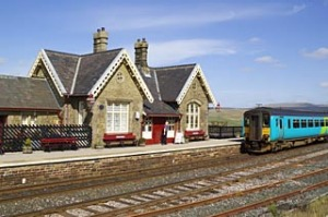 Ribbleshead Station, North Yorkshire, England.