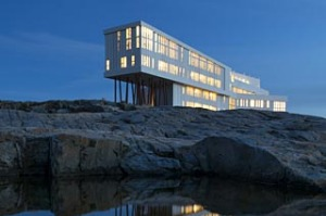 The Fogo Island Inn, Canada.
