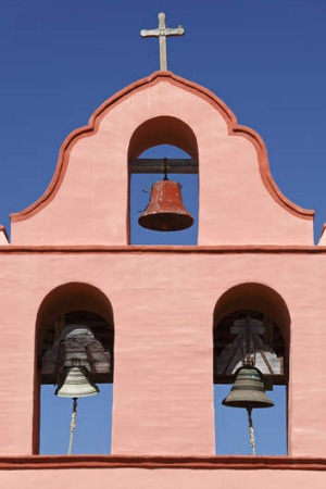 Mission Bell Tower, Santa Barbara.