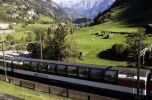Willhelm Tell Express Switzerland Credit Swiss Travel System AG.