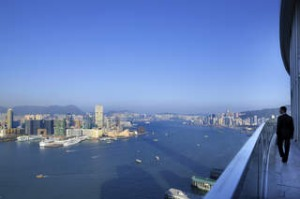 Four Seasons sits in Central and gazes across to Tsim Sha Tsui on the Kowloon side of the harbour. It therefore misses ...