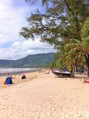 Phuket's beaches have been cleaned up following the eviction of beach bars and clubs.