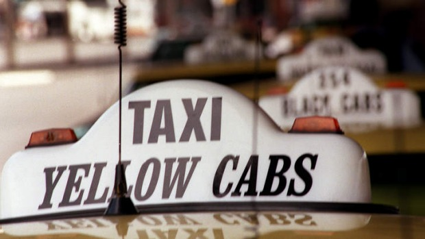 Airport taxis around the world generally charge a fee for pickups.