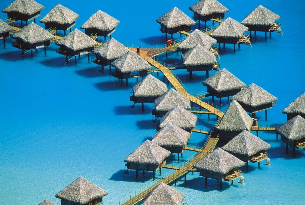 Le Meridien Bora Bora: Although not as luxurious as some resorts, Le Meridien stands out for its location. It feels ...