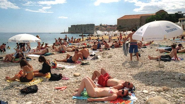 Tourists magnet: Croatia is one the most popular destinations to visit in Eastern Europe.