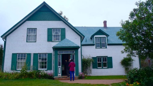 The Cavendish National Historic Site.