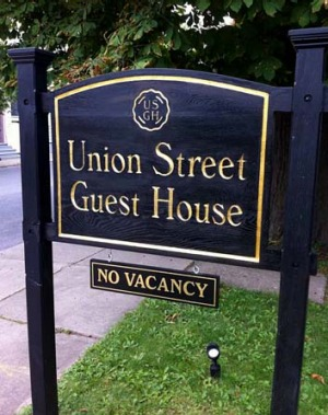 Turning the page: Union Street Guest House.