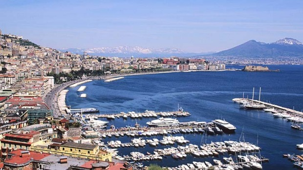 What's not to like? The Bay of Naples at Naples, Italy.