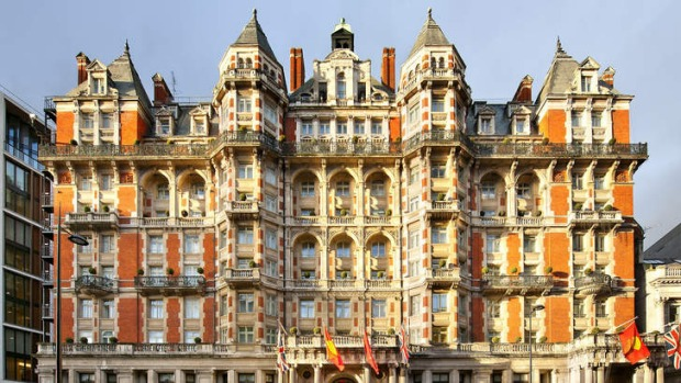 The Mandarin Oriental, London.