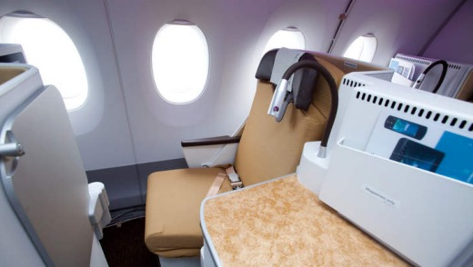 Business Class on a Finnair Airbus A350 - not half bad for a great price. Supplied.