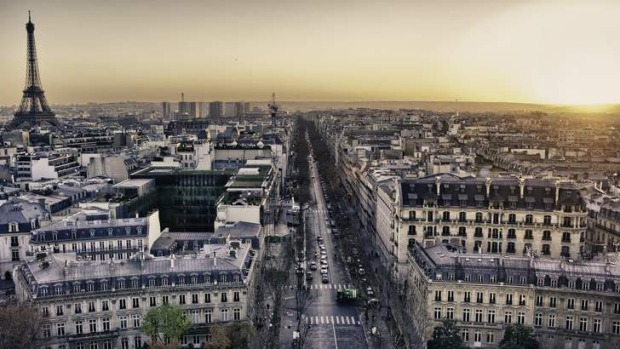 Bright lights: Paris - the city of love and patience.