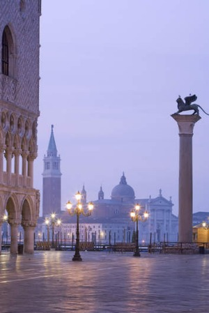 St Mark's Square,  Venice, Italy.
