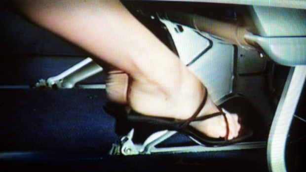 A Qantas video shows passengers how to prevent deep vein thrombosis.