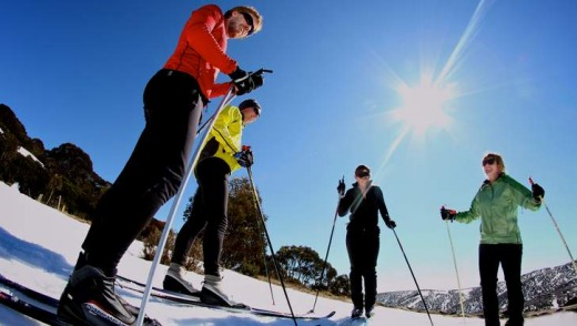 Easy as: Falls Creek cross-country lessons.