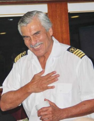 Eduardo Neira, the singing captain.