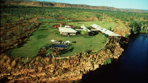 El Questro Wilderness Lodge, in the Kimberley, Western Australia.