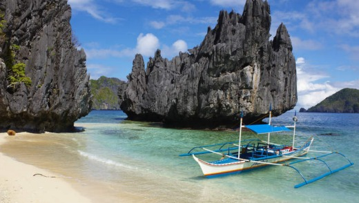 Exotic encounters: Palawan Island, Boracay's White Beach.