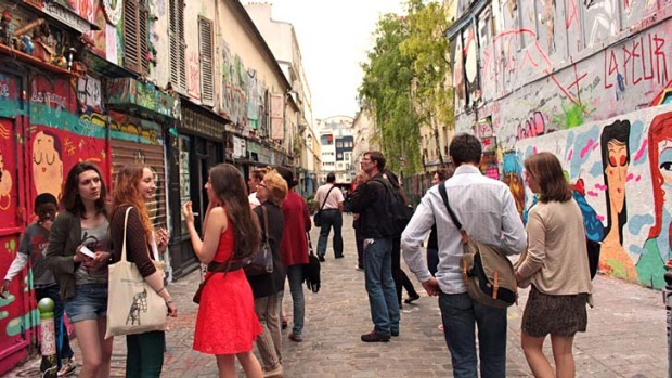Niche experiences: Tourists to Paris are looking for a city tour of a different kind.