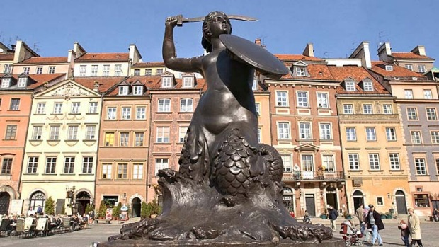 Warsaw has been named the cheapest European city for all things cultural.