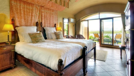 'Lizzie's suite' at Chobe Lodge.