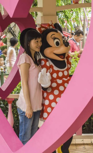 Family-friendly favourite: Hong Kong Disneyland on Lantau Island.