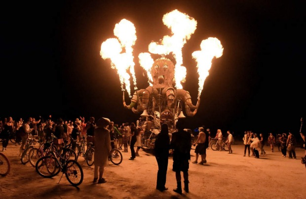 Burning Man, USA: Nevada's annual freak-fest has been gaining in popularity lately – it sounds counterproductive, but ...