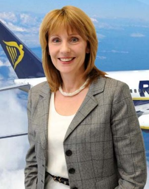 Caroline Green, Ryanair's head of customer services.