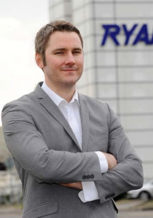 Robin Kiely, Ryanair's head of communications.
