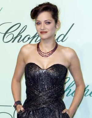 Belle femme: French actress Marion Cotillard.