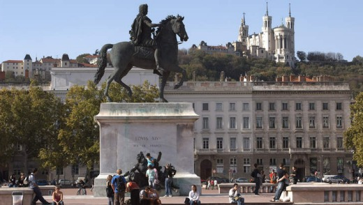 Lyon's Place Bellecour.