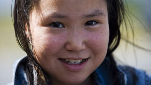 Young Greenlandic girl.