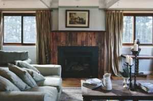 The main guests' lounge area at The Loch, Berrima.